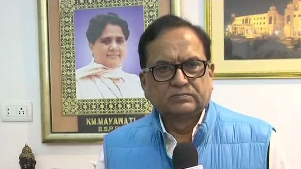 Post BSP-SP coalition BJP leaders have lost mental balance: BSP's Satish Chandra Misra on BJP MLA Sadhana Singh's remark