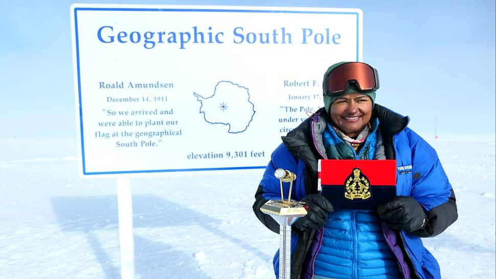 Aparna Kumar becomes the 1st woman IPS officer to reach South Pole