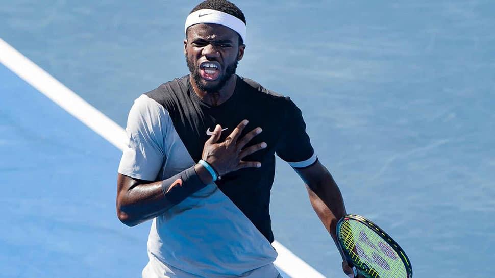 Birthday boy Frances Tiafoe topples Grigor Dimitrov to reach Australian Open quarters