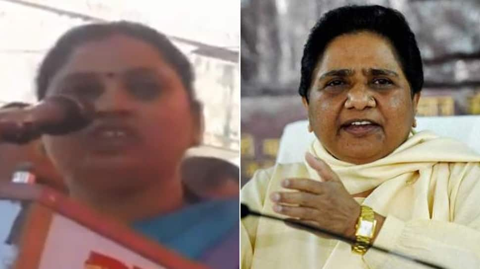 BJP MLA Sadhna Singh apologises for calling Mayawati 'worse than a eunuch'