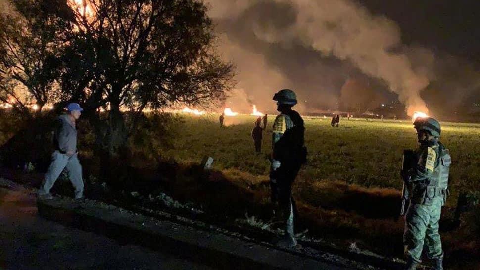 Mexico pipeline blast toll reaches 85