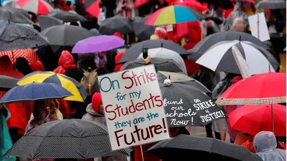 Talks seeking to end Los Angeles teachers strike enter 4th day
