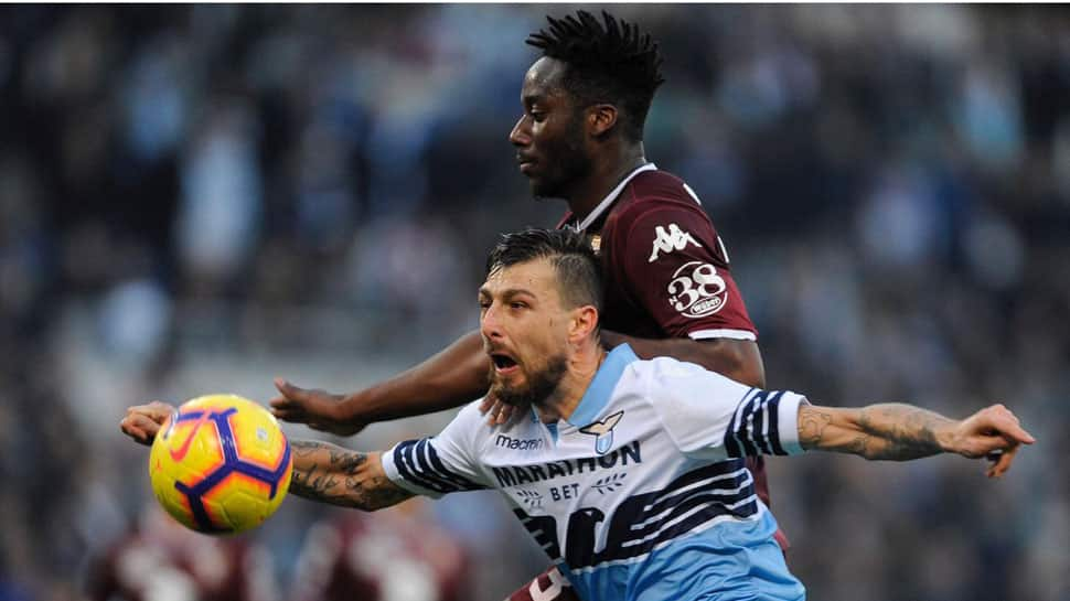 Serie A: Red-carded Francesco Acerbi's 149-match run ends as Napoli beat Lazio