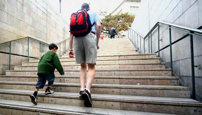 Climbing stairs is good for the heart: Study