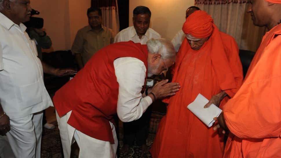 President Ram Nath Kovind, PM Narendra Modi, others condole death of Lingayat seer Shivakumara Swamiji