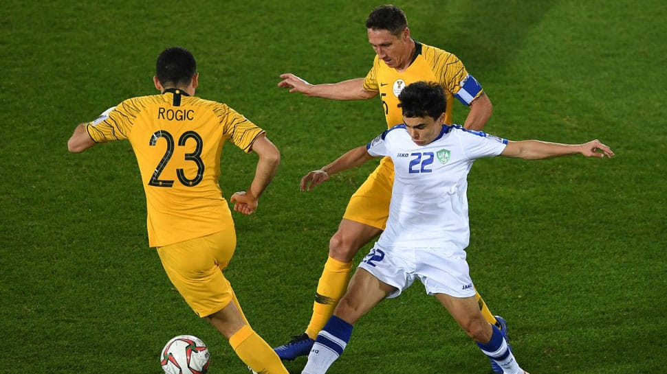 Australia beat Uzbekistan on penalties to reach AFC Asian Cup quarters