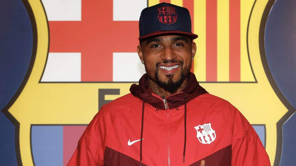 Barcelona make surprise signing of Kevin-Prince Boateng