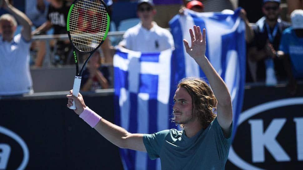 Australian Open After Roger Federer Stefanos Tsitsipas Stuns Roberto Bautista Agut To Reach Semis Tennis News Zee News
