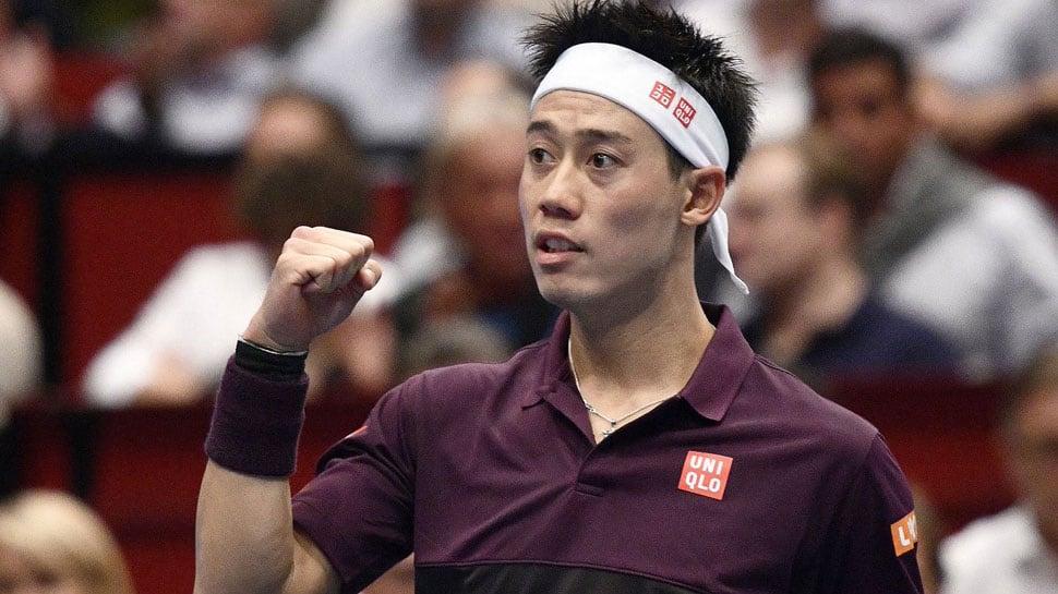 Battling Kei Nishikori faces big test against reigning Novak Djokovic