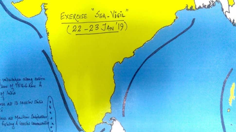 Indian Navy begins 'Ex Sea Vigil', the largest coastal defence exercise