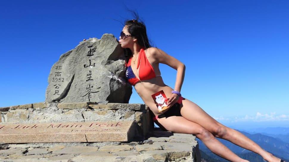 Taiwan's 'Bikini hiker' Gigi Wu dies after falling into a ravine