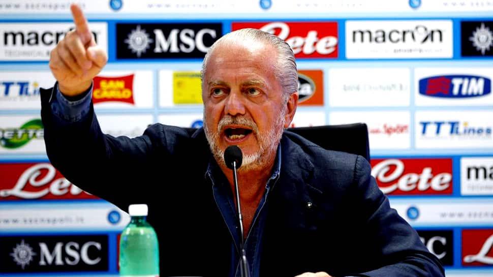 Serie A: Frosinone hit back at 'rude' Napoli owner Aurelio De Laurentiis