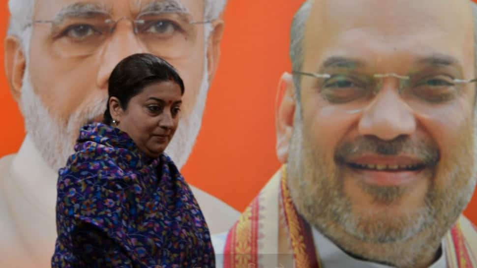 Pilot refuses to take off Smriti Irani's chopper for West Bengal rally, BJP cries conspiracy