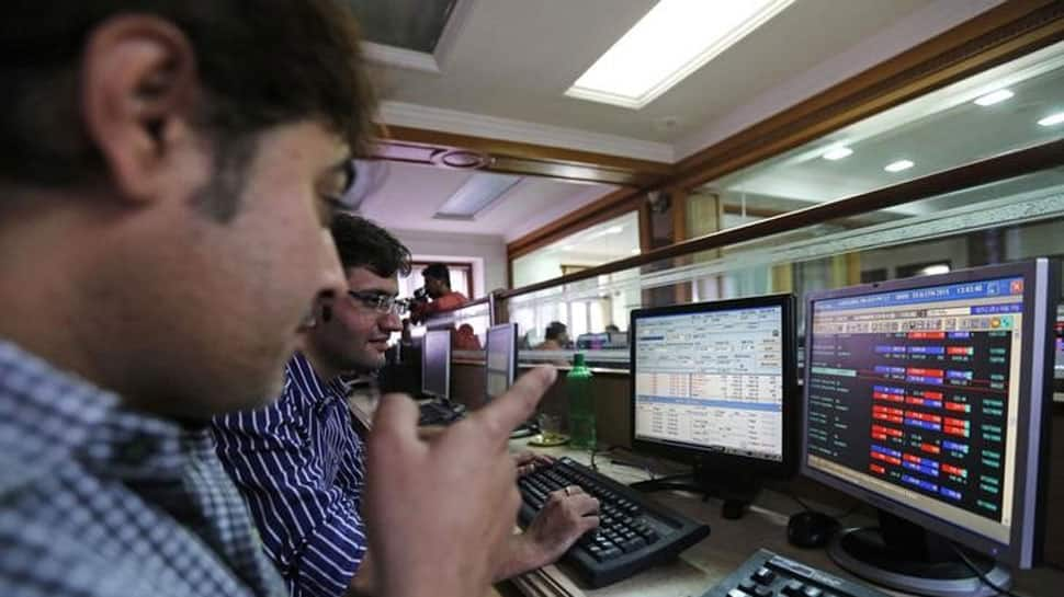 Markets open flat for second day; turns negative soonafter