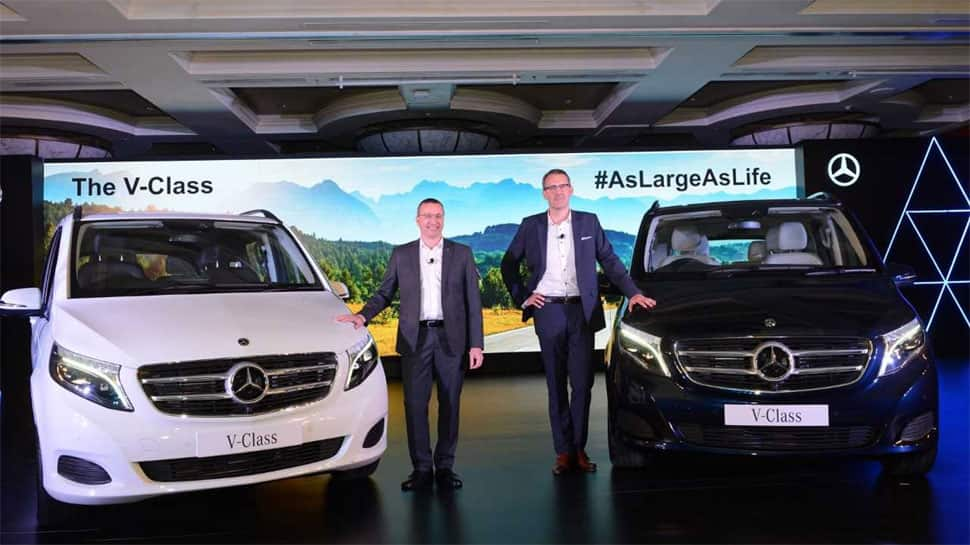 Mercedes-Benz launches luxury MPV V-Class in India