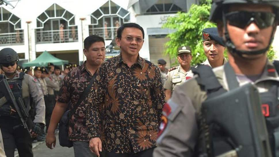 Jakarta's ex-Governor released after jail term for blasphemy