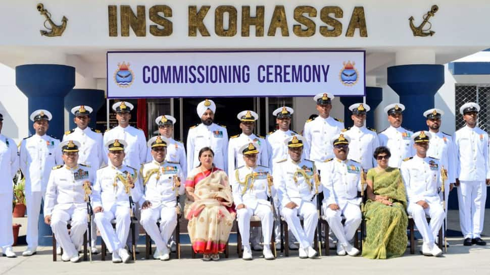 Indian Navy's latest sword arm INS Kohassa commissioned in Andaman and Nicobar Islands