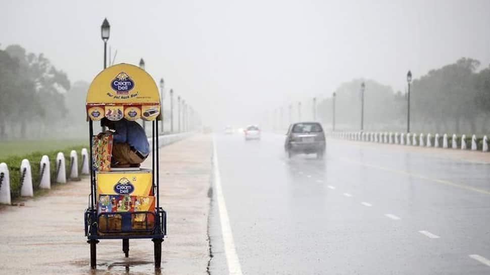 Rains bring respite from Delhi pollution
