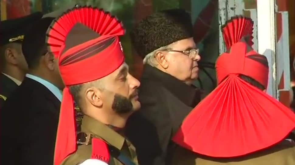 Jammu and Kashmir Governor Satya Pal Malik unfurls Tricolour on Republic Day, mobile internet services suspended