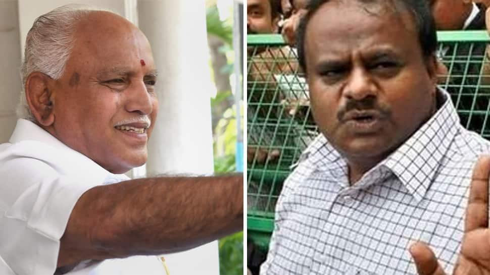 Karnataka CM Kumaraswamy alleges BJP still trying to poach MLAs, Yeddyurappa rubbishes claim