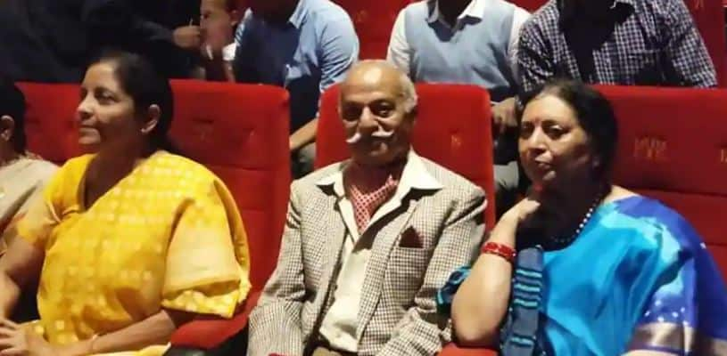 Nirmala Sitharaman asks 'How's the josh' as she watches Uri with war veterans