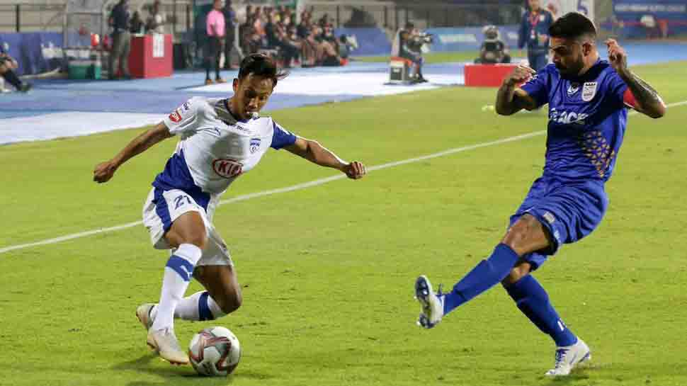 ISL: Mumbai City end Bengaluru's unbeaten run to top table