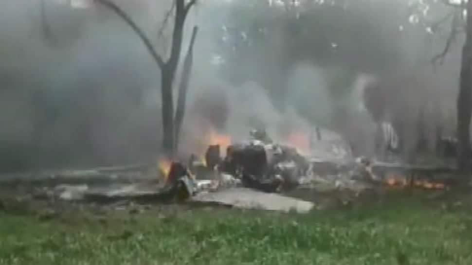 IAF Jaguar plane crashes in UP's Kushinagar, pilot ejects safely