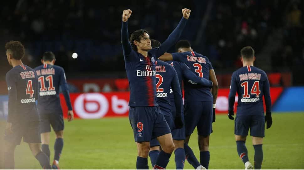 Ligue-1: Edinson Cavani on target as Paris St Germain tame Rennes