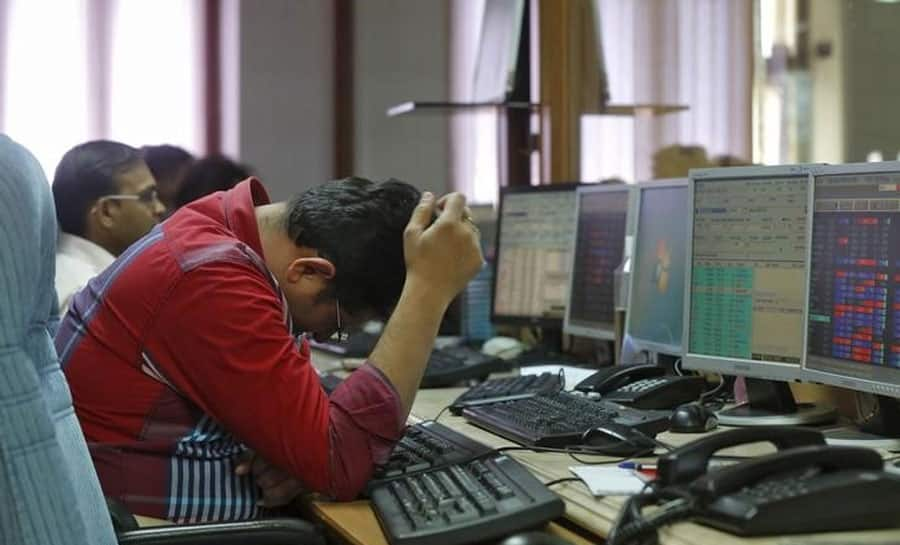 Sensex falls over 360 points, Nifty slips below 10,700
