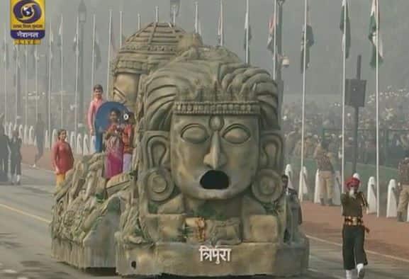 Republic Day parade: Tripura bags best tableau award, J&K wins second prize