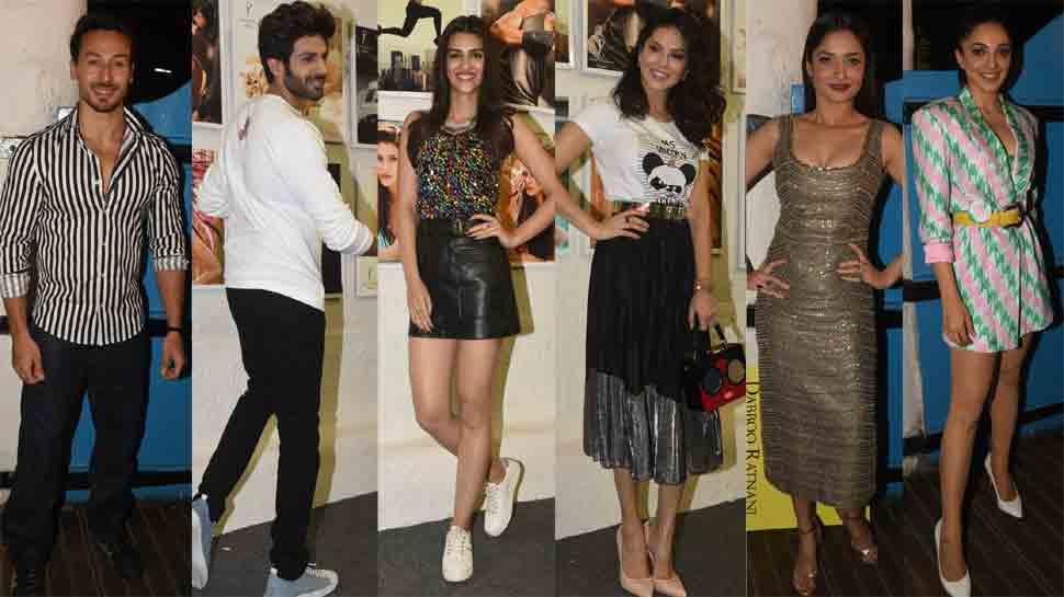 Tiger Shroff, Kartik Aaryan, Kiara Advani attend Dabboo Ratnani's calendar launch party