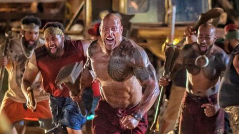The Rock shares photo from new film, features Roman Reign