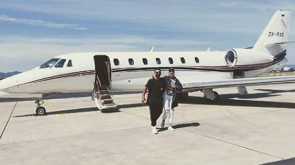 This pic of Virat Kohli, Anushka Sharma in front of a private jet will give you major vacay goals-See inside
