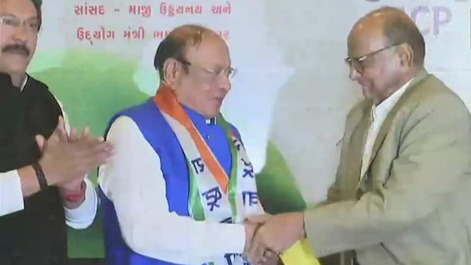 Big boost to NCP in Gujarat, former Gujarat CM Shankersinh Vaghela joins party