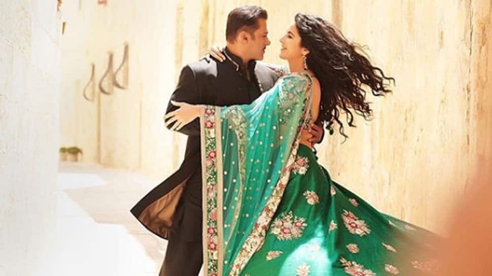 Hey, we just spotted Katrina Kaif with Salman Khan in this unseen pic from 'Bharat' song!