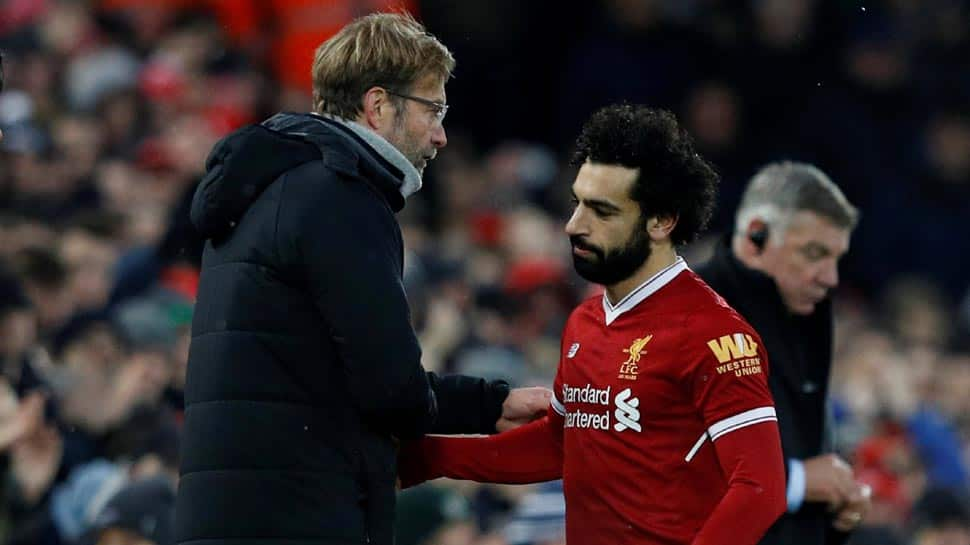 Jurgen Klopp slams Mohamed Salah's critics over diving claims