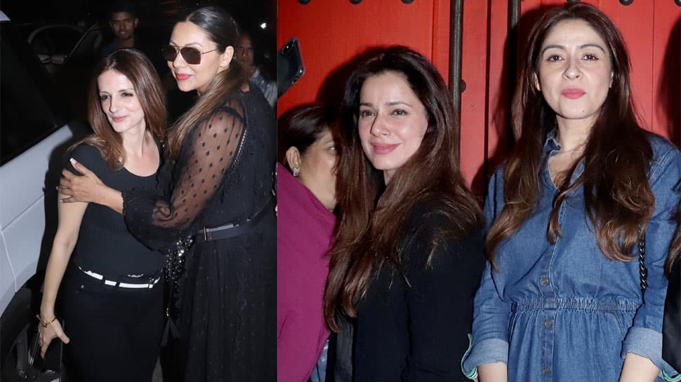 BFFs Gauri Khan-Sussanne Khan step out for a fun night out with gal pals—See pics