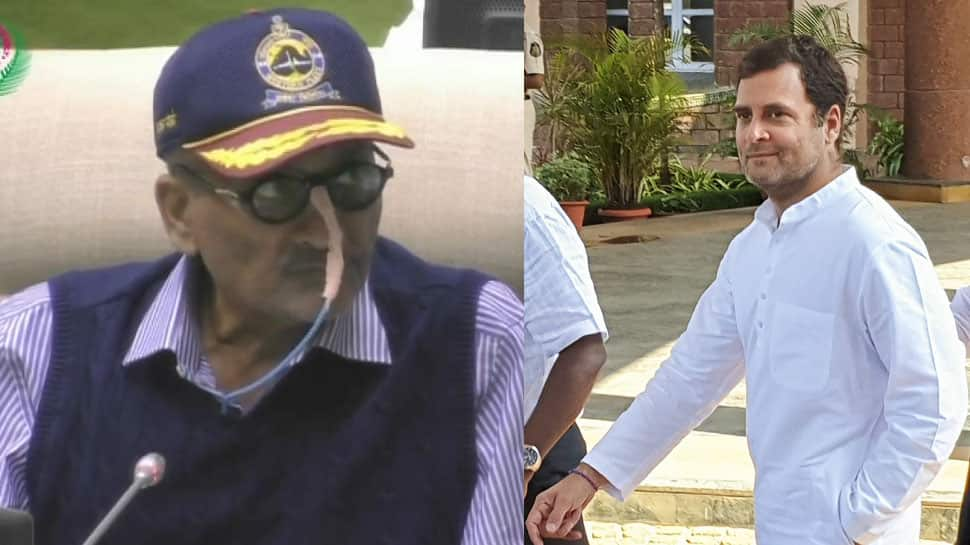 Manohar Parrikar calls out Rahul Gandhi, says no talk on Rafale during the meeting