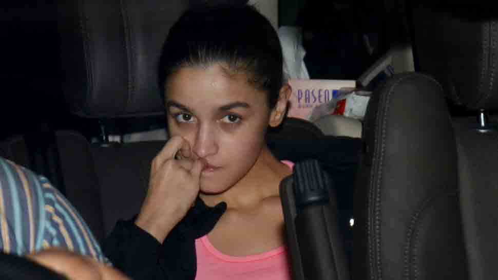 Amidst 'Dostana 2' rumours, Alia Bhatt spotted outside Karan Johar's residence, but with a worried face — Pics