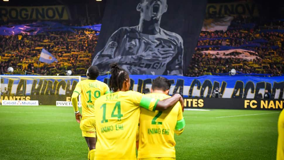 Nantes play out 1-1 draw against Saint Etienne amid  Emiliano Sala tributes