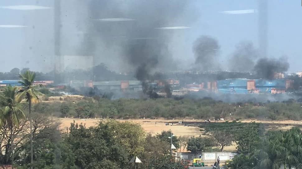 Mirage 2000 trainer fighter aircraft crashes in Bengaluru