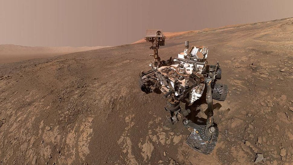 NASA's Curiosity finds Mars rocks more porous than expected