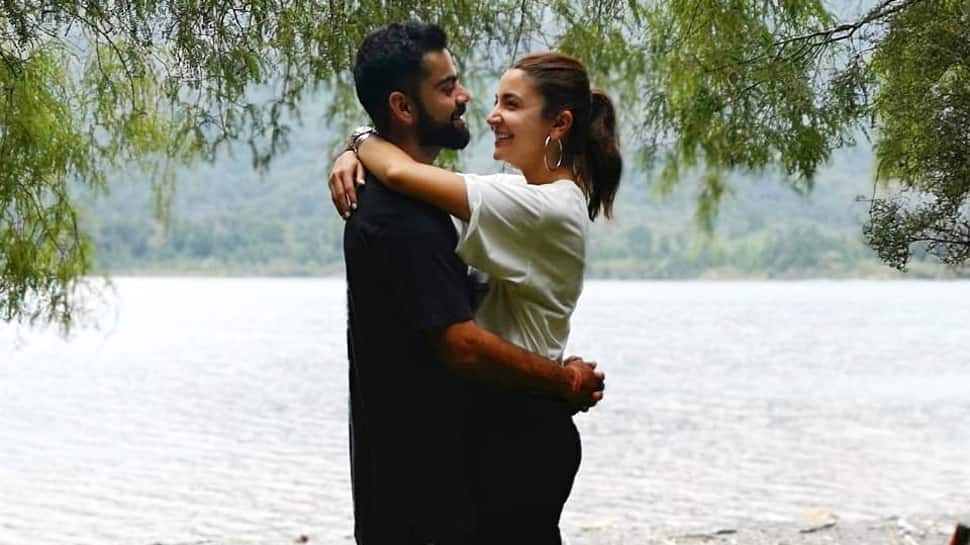 Virat and Anushka go high on love