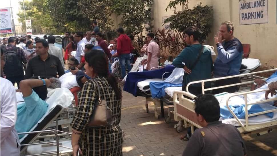 Odisha: Fire breaks out in Bhubaneswar's Apollo Hospital