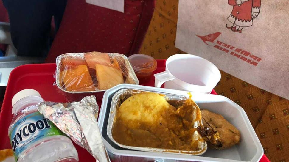 Cockroach found in breakfast onboard Bhopal-Mumbai Air India flight, passenger files complaint