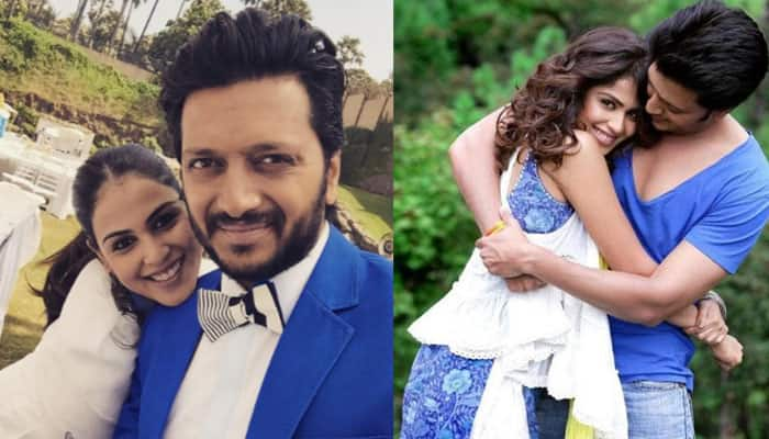 Riteish is reason for my smile: Genelia on wedding anniversary