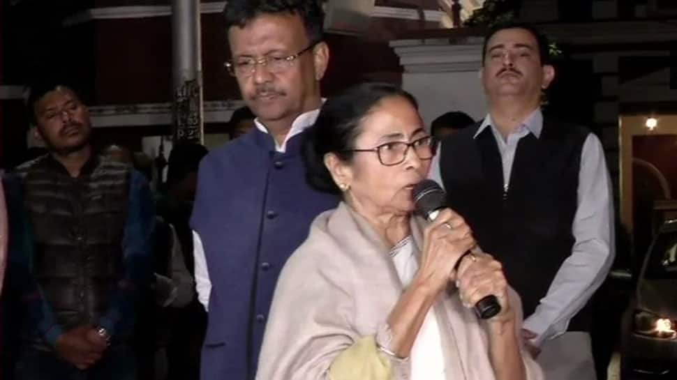 CM Mamata Banerjee holds 'dharna', calls CBI action against Kolkata Police chief 'politically vindictive'