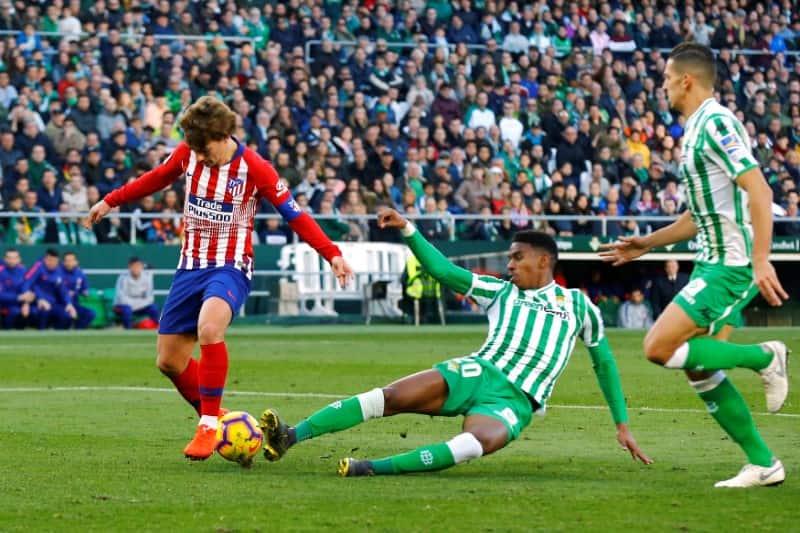 La Liga: Atletico Madrid suffer defeat again Real Betis in Alvaro Morata's debut