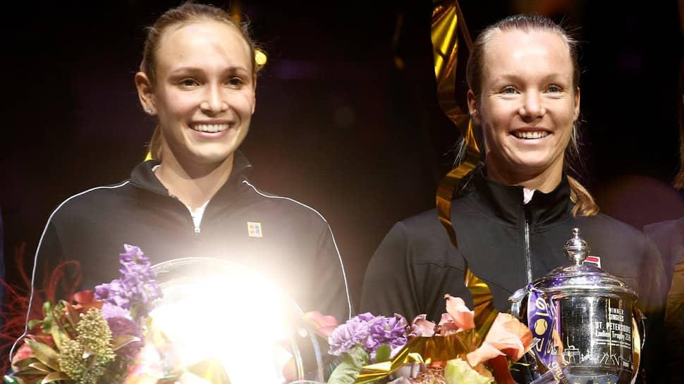 Kiki Bertens beats Donna Vekic to lift St Petersburg title