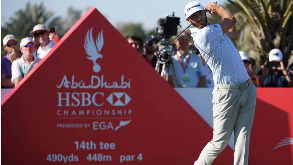 Dustin Johnson holds off Li Haotong to win Saudi International title